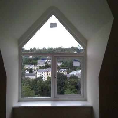 Dormer window completed