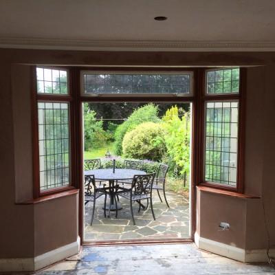 new Replaster of room in Tunbridge Wells