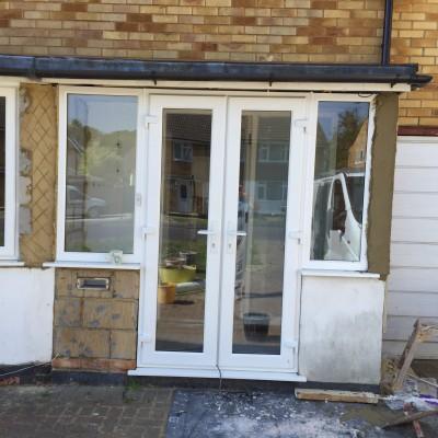 Porch rendering following new door and fitting in TunbridgeWells