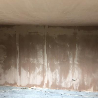 Skim coat after plasterboard