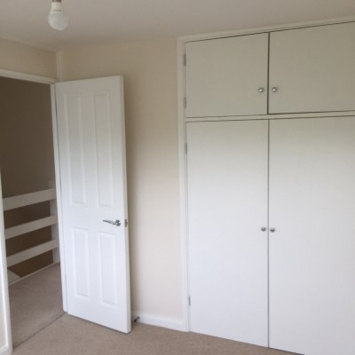 Plastering job Tunbridge Wells, bedroom finished