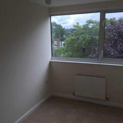 finished bedroom Tunbridge Wells