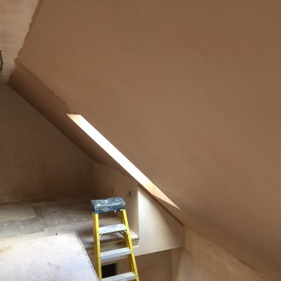 Upstairs in barn conversions