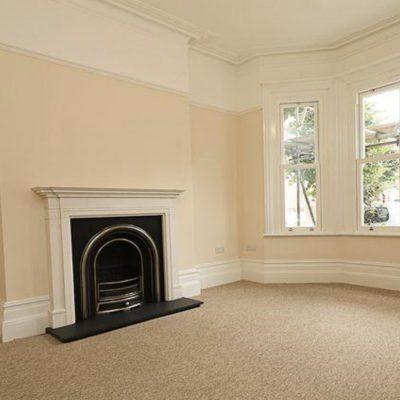Belting Rd, living room finished